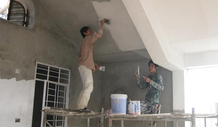 Thợ sơn nhà tại hà nội trọn gói giá rẻ