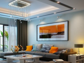 Mẫu thạch cao phòng khách, phòng ngủ sang trọng nhất 2016