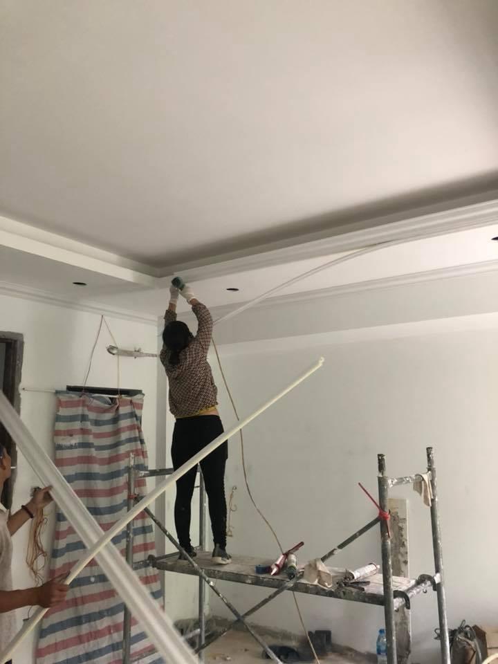 thợ sơn nhà không chuyên