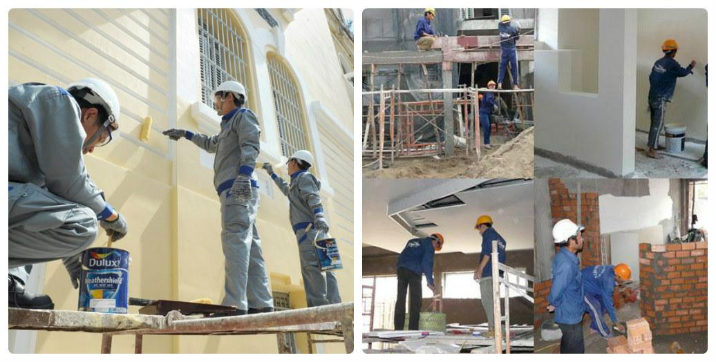 Giá thuê thợ sơn nhà, giá thợ sơn nhà trọn gói Hà Nội