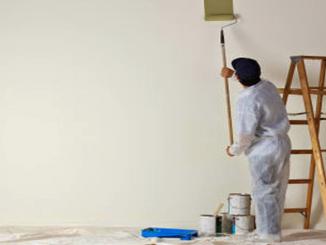 Thợ sơn nhà sơn tường đúng kỹ thuật