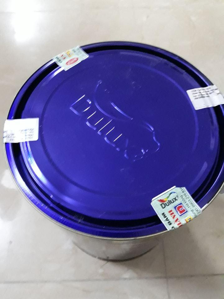 Thùng sơn Dulux 5 lít còn nguyên tem mác