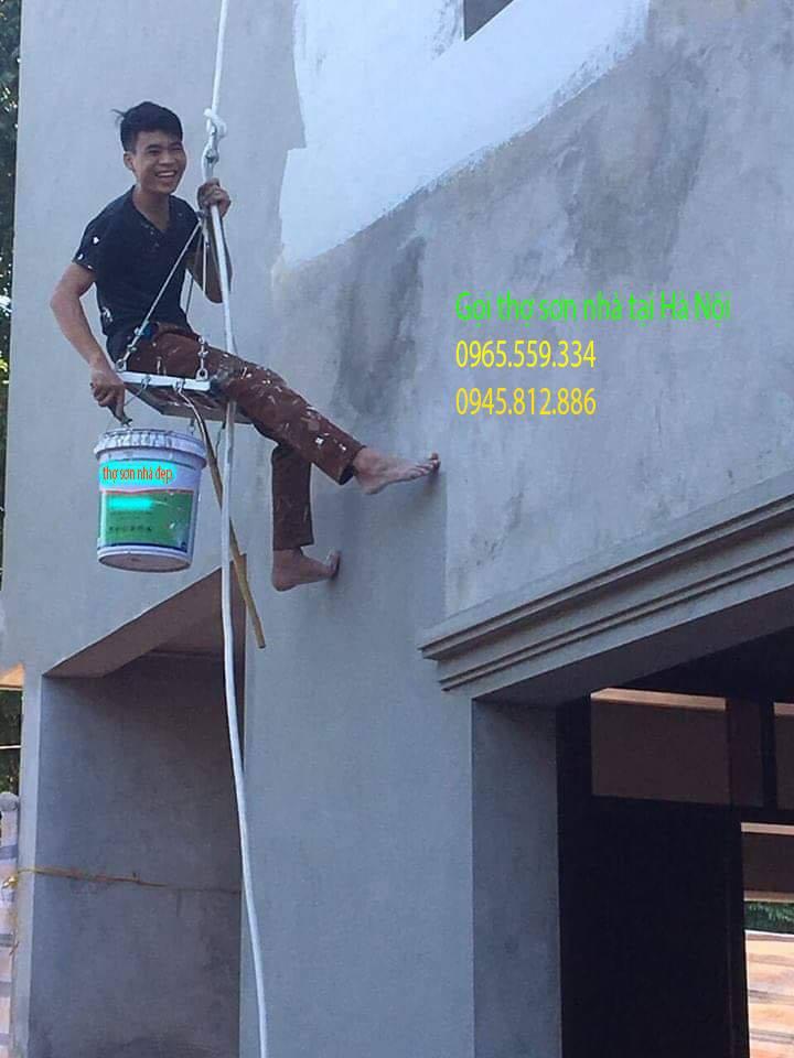 Tìm thợ sơn giỏi chống thấm ẩm mốc