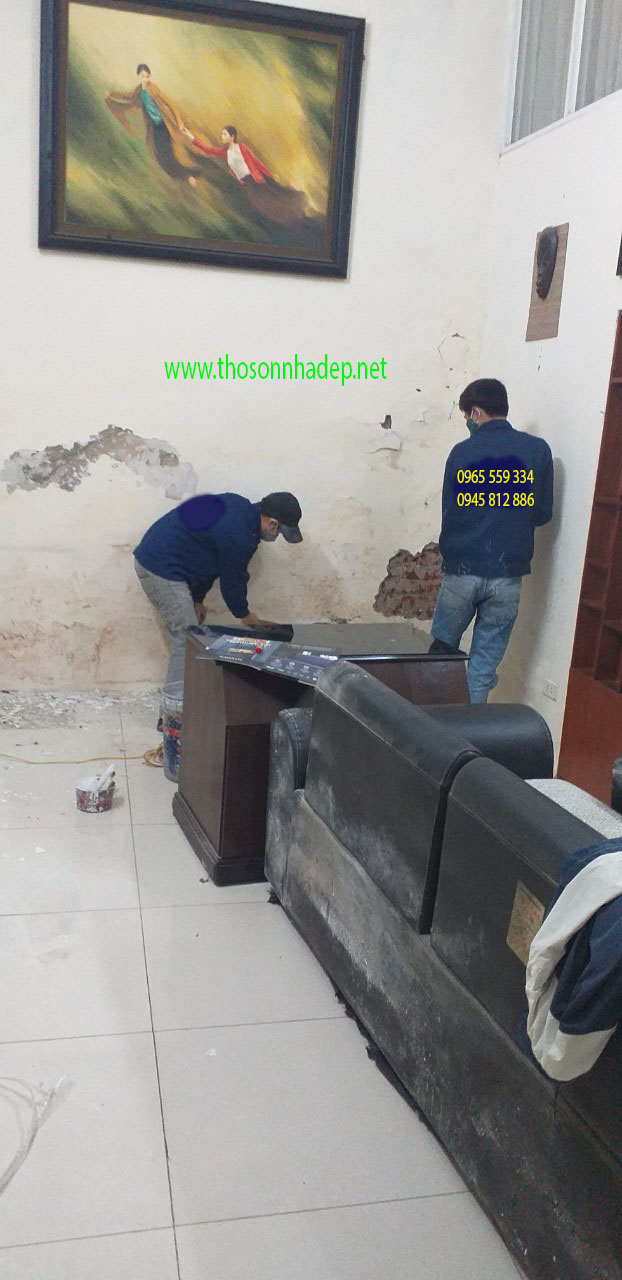 đội thợ sơn sửa nhà uy tín