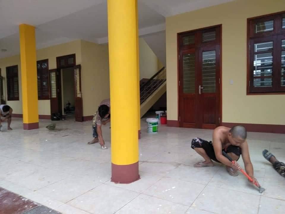 Thợ sơn sửa nhà chuyên nghiệp tại Hà Nội
