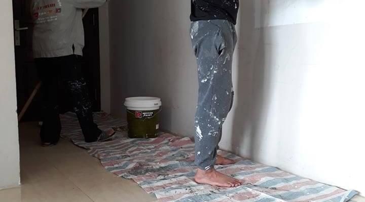 Thợ sơn nhà văn phòng chung cư Hà Nội