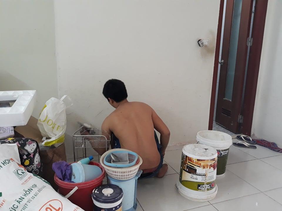 Thợ sơn bả tường chung cư tại hà nội