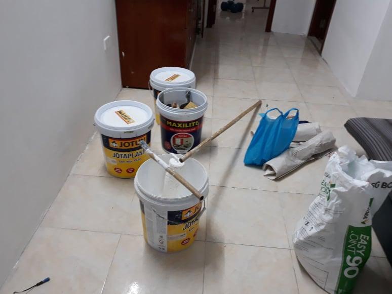 Cách tính m2 sơn nhà chung cư