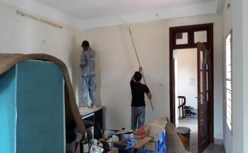 Thợ sơn nhà công nhật bao nhiêu tiền 1 ngày?