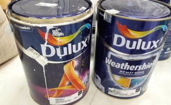 thùng sơn Dulux bao nhiêu tiền?