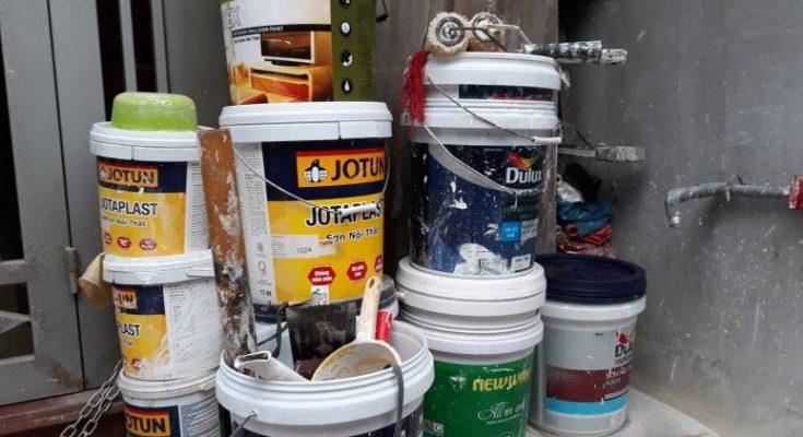 Thợ sơn nhà chuyên nghiệp tại Hà Nội