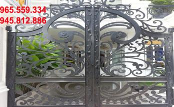Giá sơn cửa cổng sắt là bao tiền 1 m2