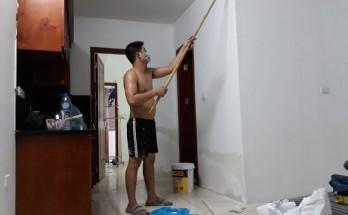 Thợ lăn sơn nhà chung cư hà nộiThợ lăn sơn nhà chung cư hà nội