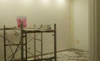 Lăn sơn nhà bị không đều màu?