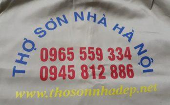 Công ty thợ sơn nhà tại Hà Nội 0965.559.334